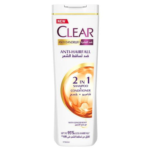 Clear Anti-Hair Fall Anti-Dandruff 2 in 1 Shampoo & Conditioner - 360ml