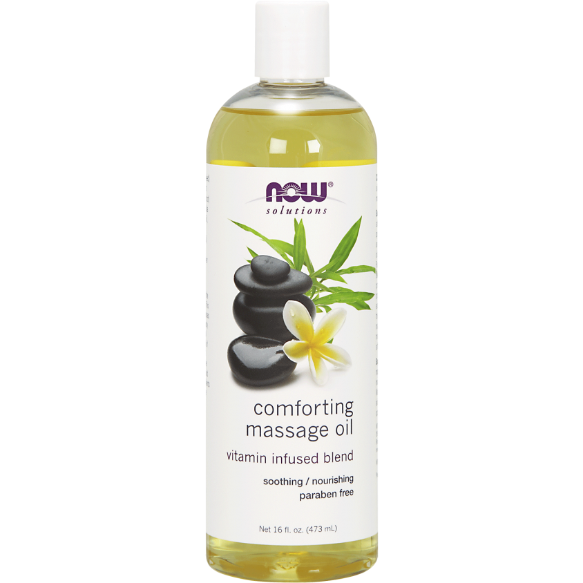 Now Comforting Massage Oil 473ml