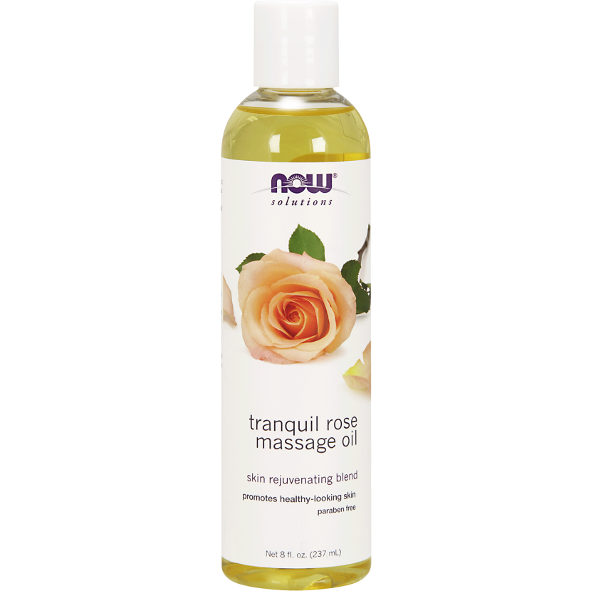 Now Tranquil Rose Massage Oil 237ml