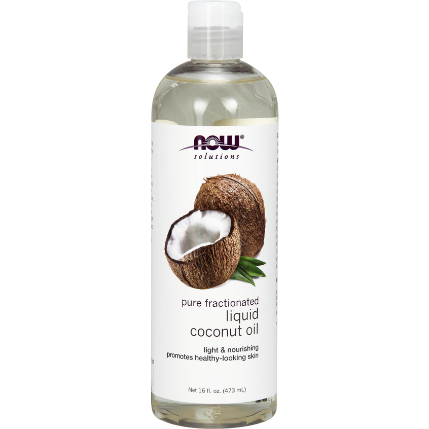 Now Liquid Coconut Oil 473ml