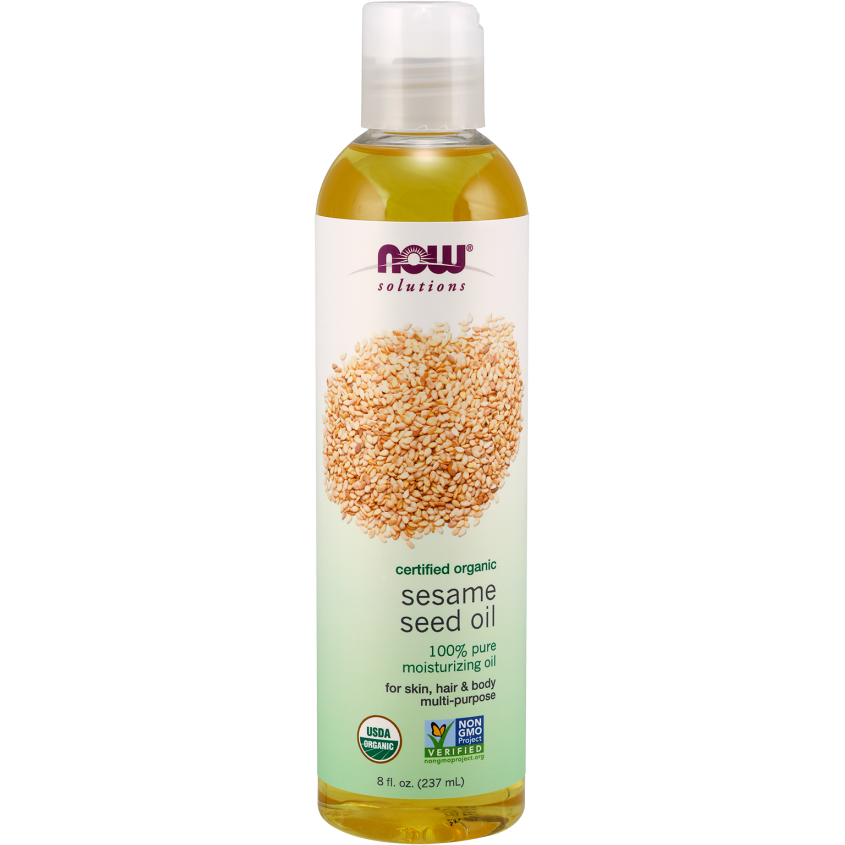 Now Sesame Seed Oil 237ml