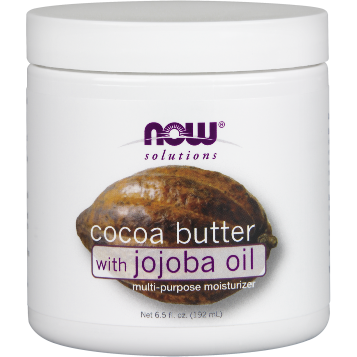 Now Cocoa Butter with Jojoba Oil 192ml