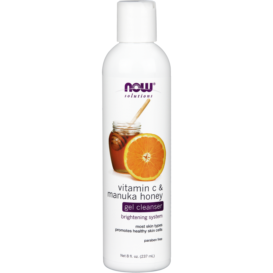 Now Vitamin C & Manuka Honey Gel Cleanser 237ml