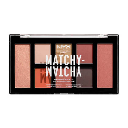 Nyx Professional Makeup Matchy-Matchy Monochromatic Color Palette (Face & Eyes)