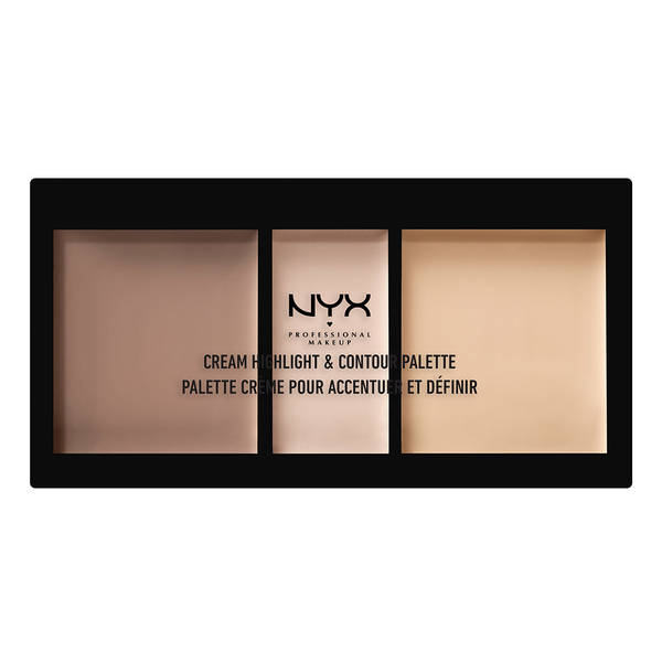 Discontinued - NYX Professional Makeup Cream Highlight & Contour Palette