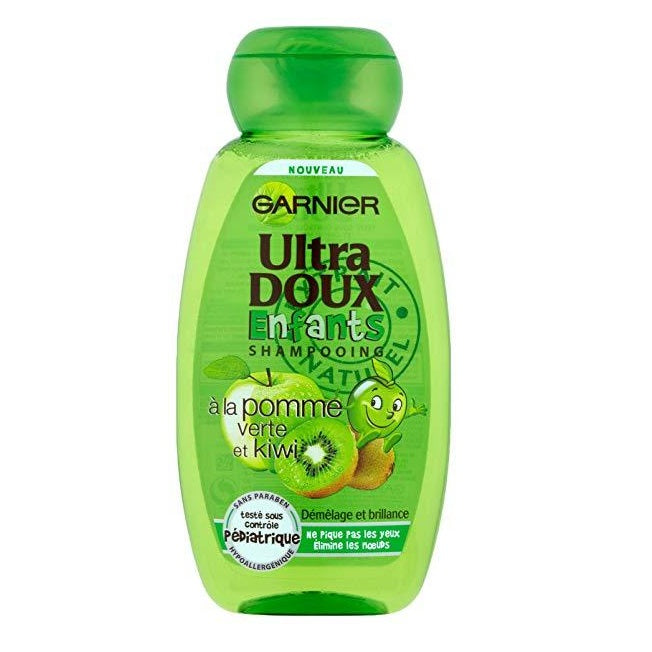 Garnier Ultra Doux Kids Green Apple & Kiwi 2-in-1 Shampoo