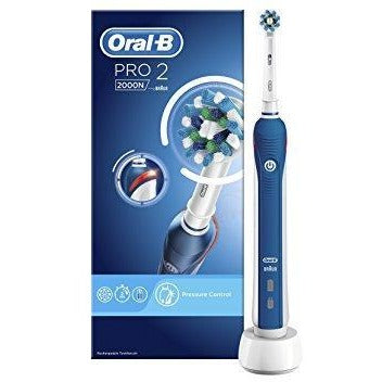 Oral-B Pro 2 2000 CrossAction Electric Rechargeable Toothbrush