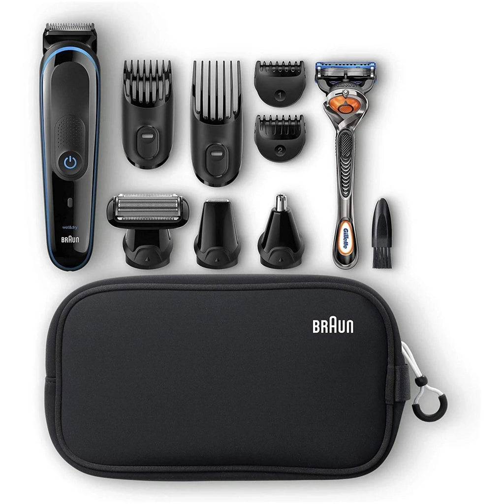 Braun Multi Grooming Kit Mgk3980 9in1 Precision Trimmer for Beard & Hair Styling