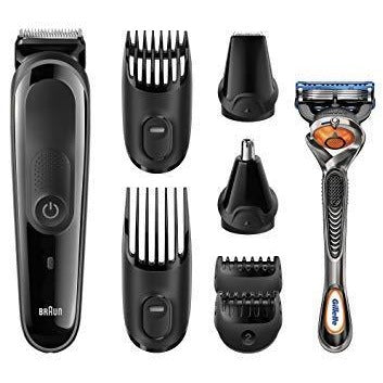 Braun MGK3060 8-in-1 Multi Grooming Kit: Beard and Hair Trimmer