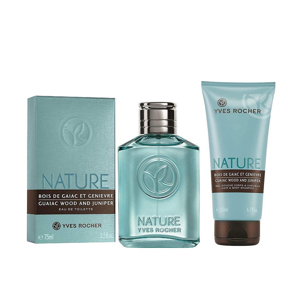 Yves Rocher Guaiac Wood and Juniper Gift Set