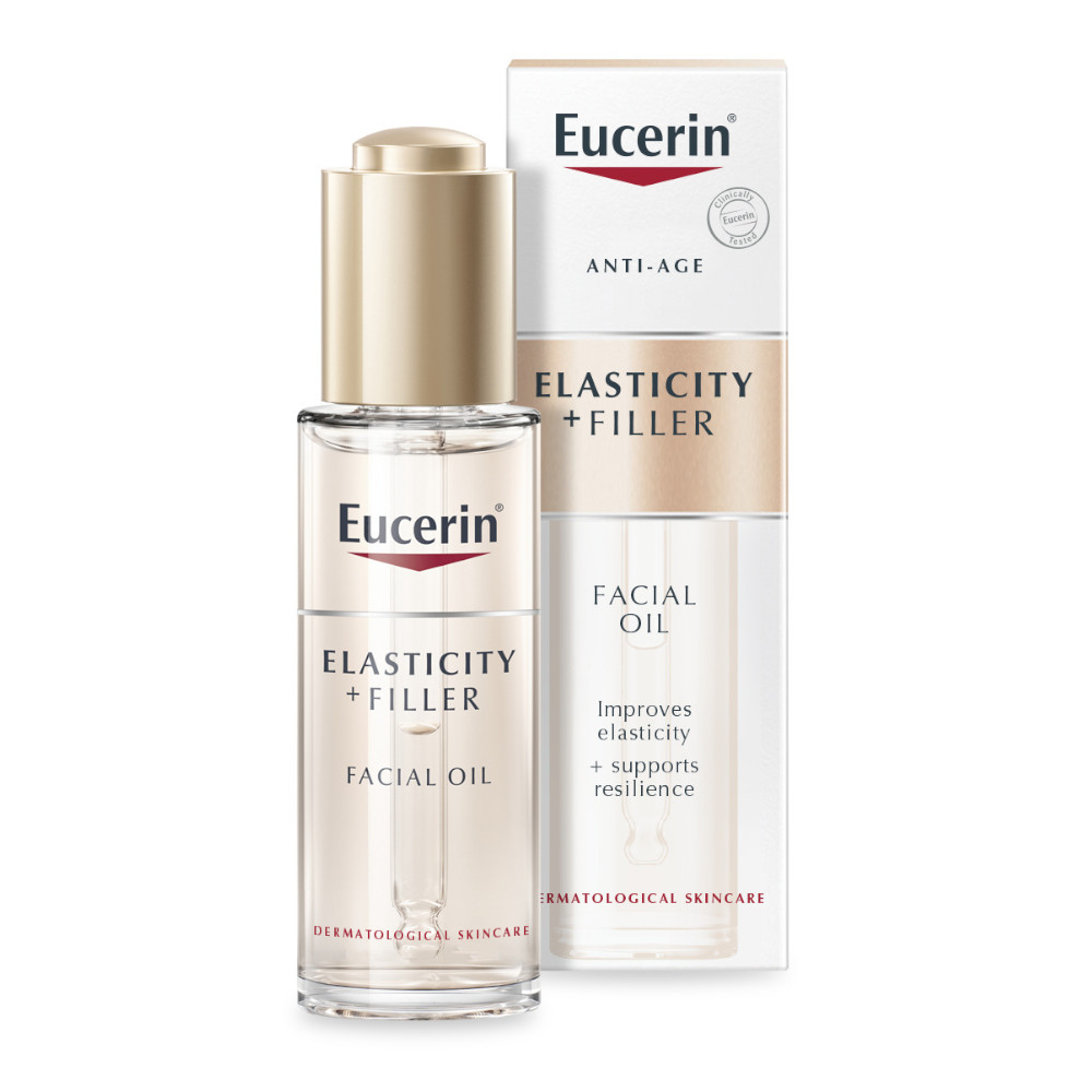 Eucerin Hyaluron-Filler + Elasticity Dry Touch Facial Oil 30ml