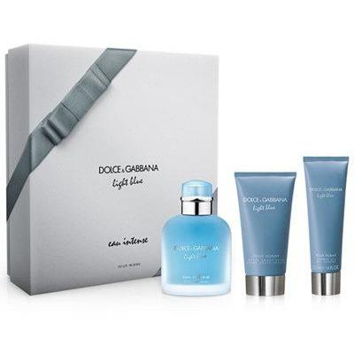 Dolce & Gabbana Light Blue Eau Intense Gift Set For Men