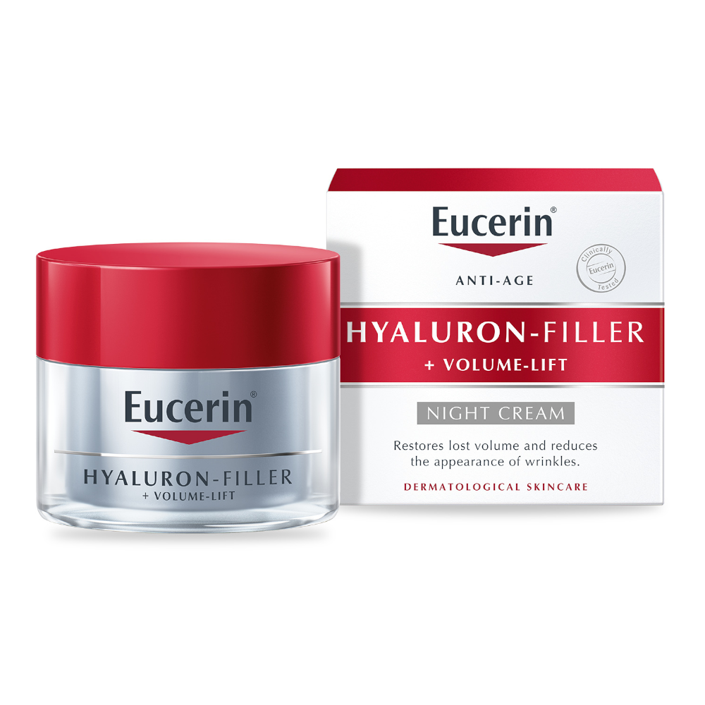 Eucerin Hyaluron-Filler + Volume Lift Night Cream