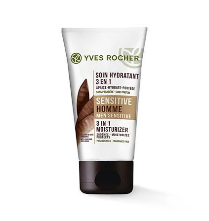 Yves Rocher 3 en 1 Moisturizer Men Sensitive