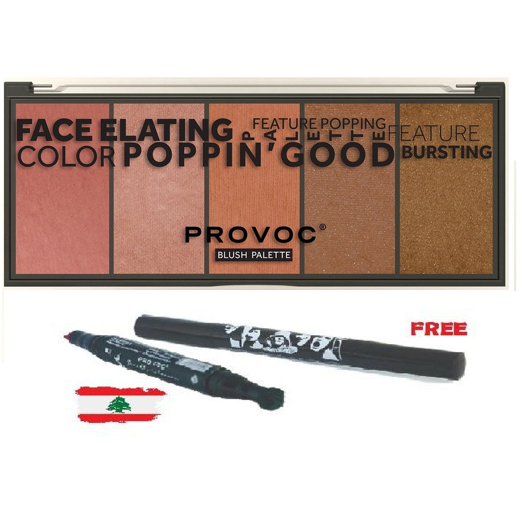 Provoc Blush Palette   - Buy 1 Get 1 Flag Pen