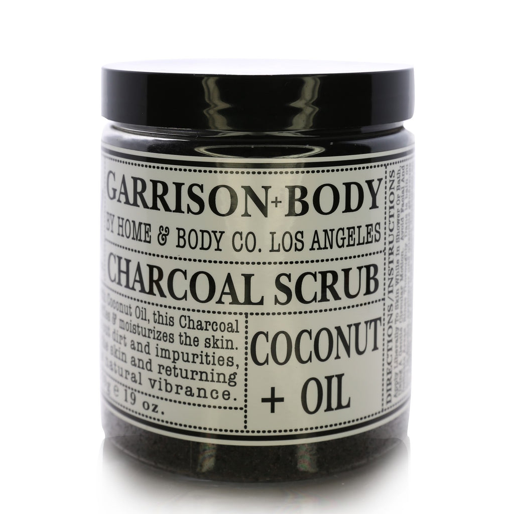 Home & Body Garrison+Body Charcoal Scrub Coconut + Oil