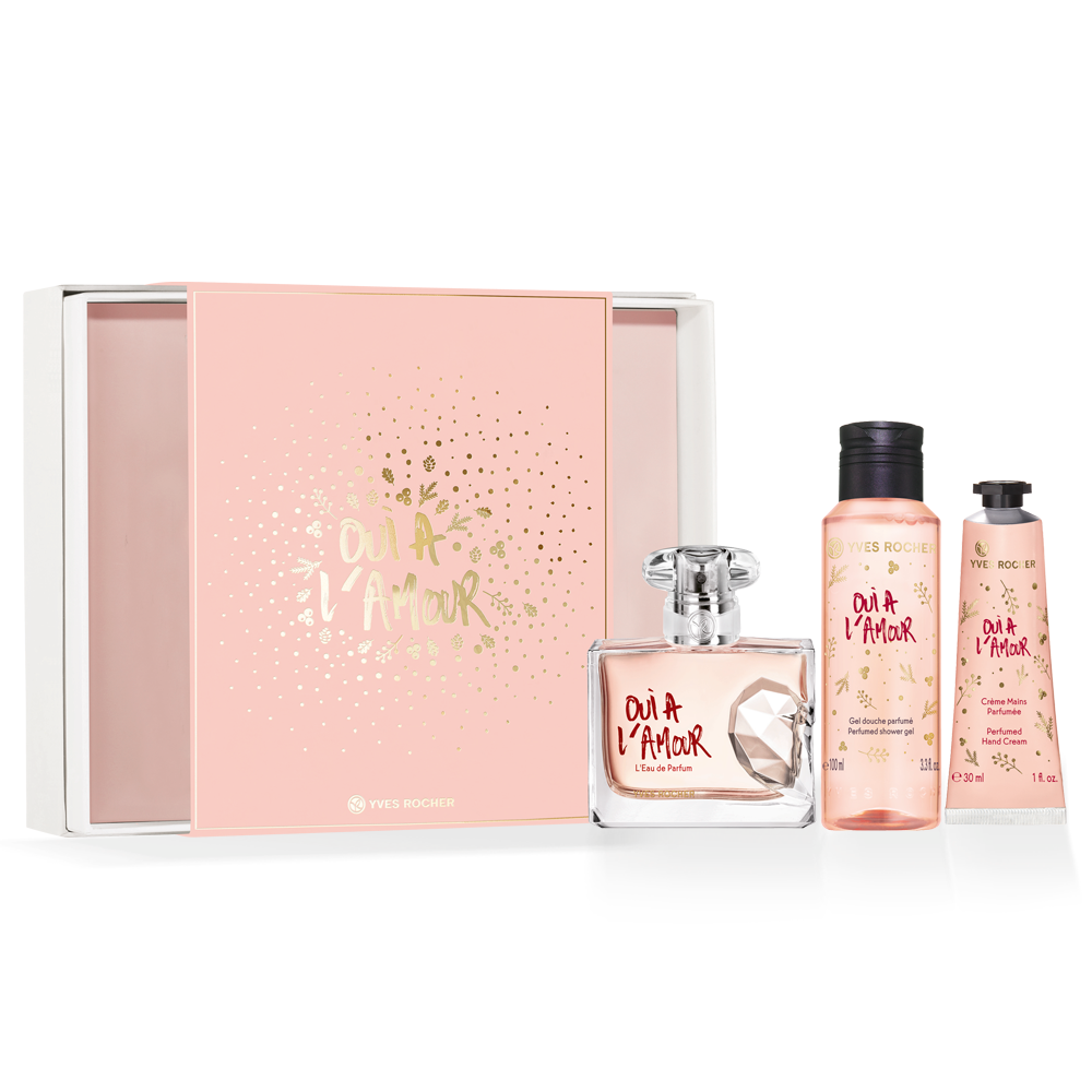 Yves Rocher Oui A L'amour Fragrance Set