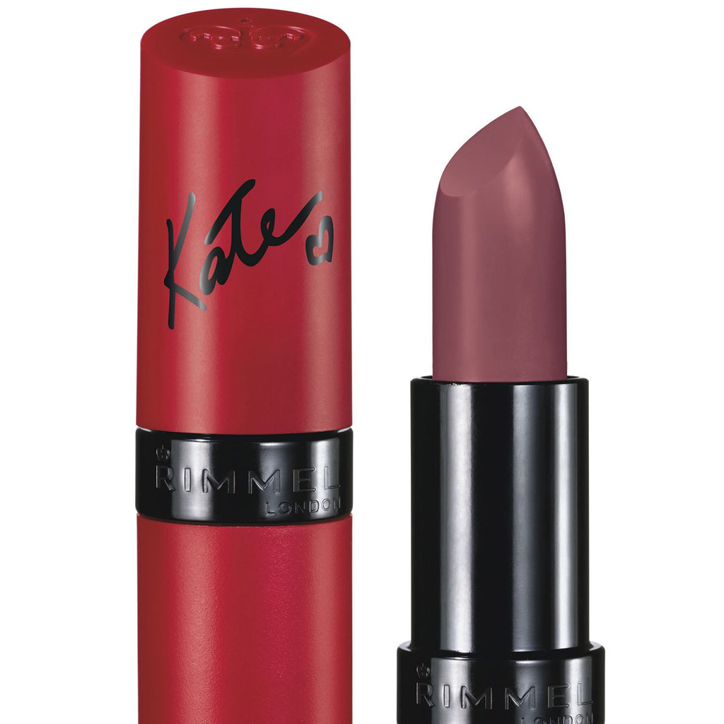 Rimmel Lasting Finish Lipstick - Kate Moss Matte Collection