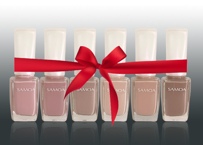 Samoa Amore Mio Nail Polish Set - Winter 2018 Collection