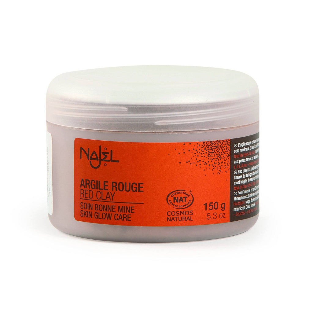 Najel Natural Red Clay for a Healthy Glow
