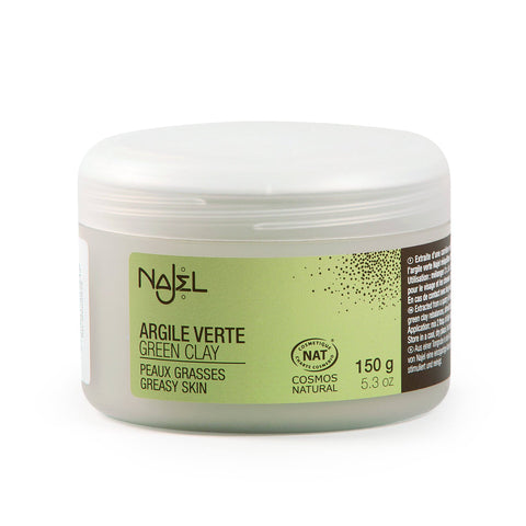 Najel Natural Green Clay for Greasy Skin 20g Sample