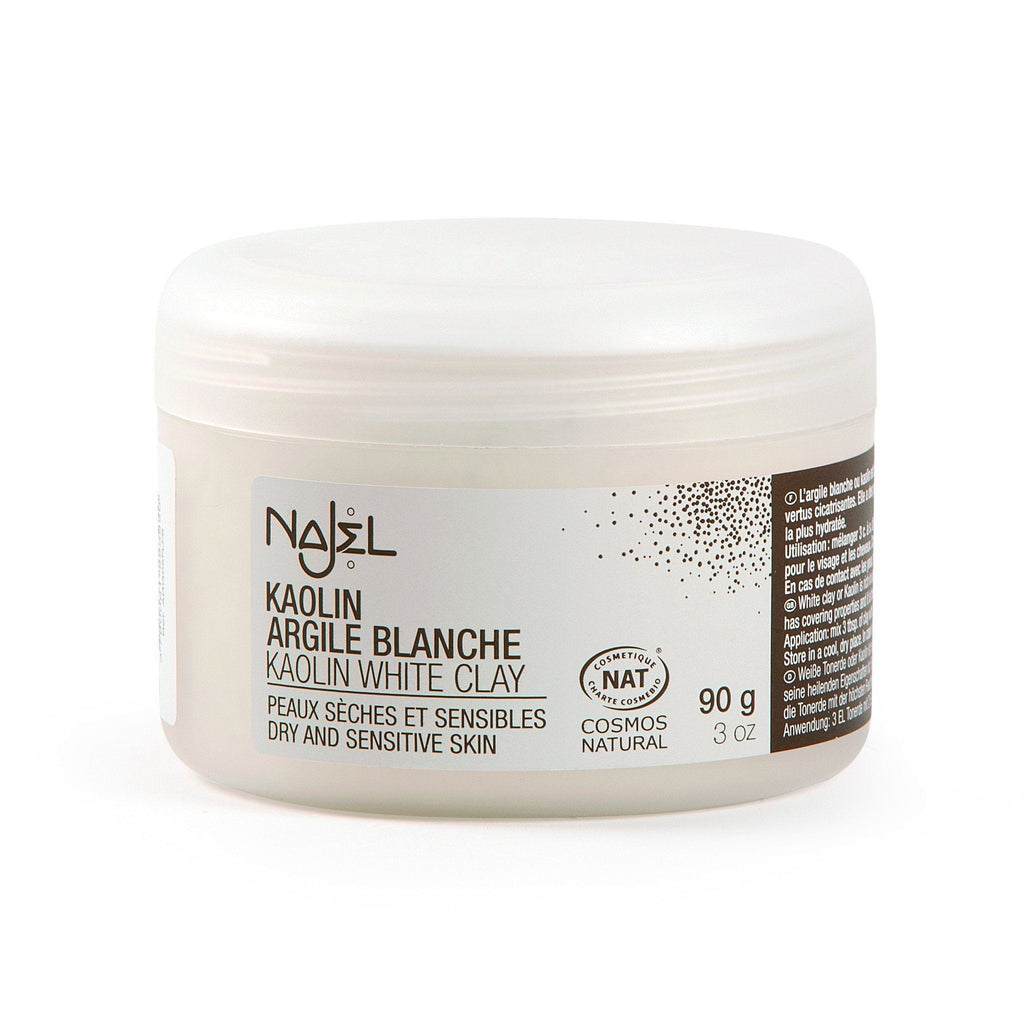Najel Natural Kaolin White Clay for Dry & Sensitive Skin