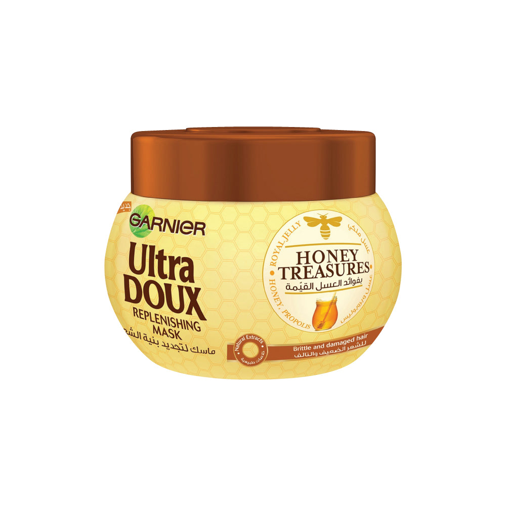 Garnier Ultra Doux Honey Treasures Hair Mask - 300ml