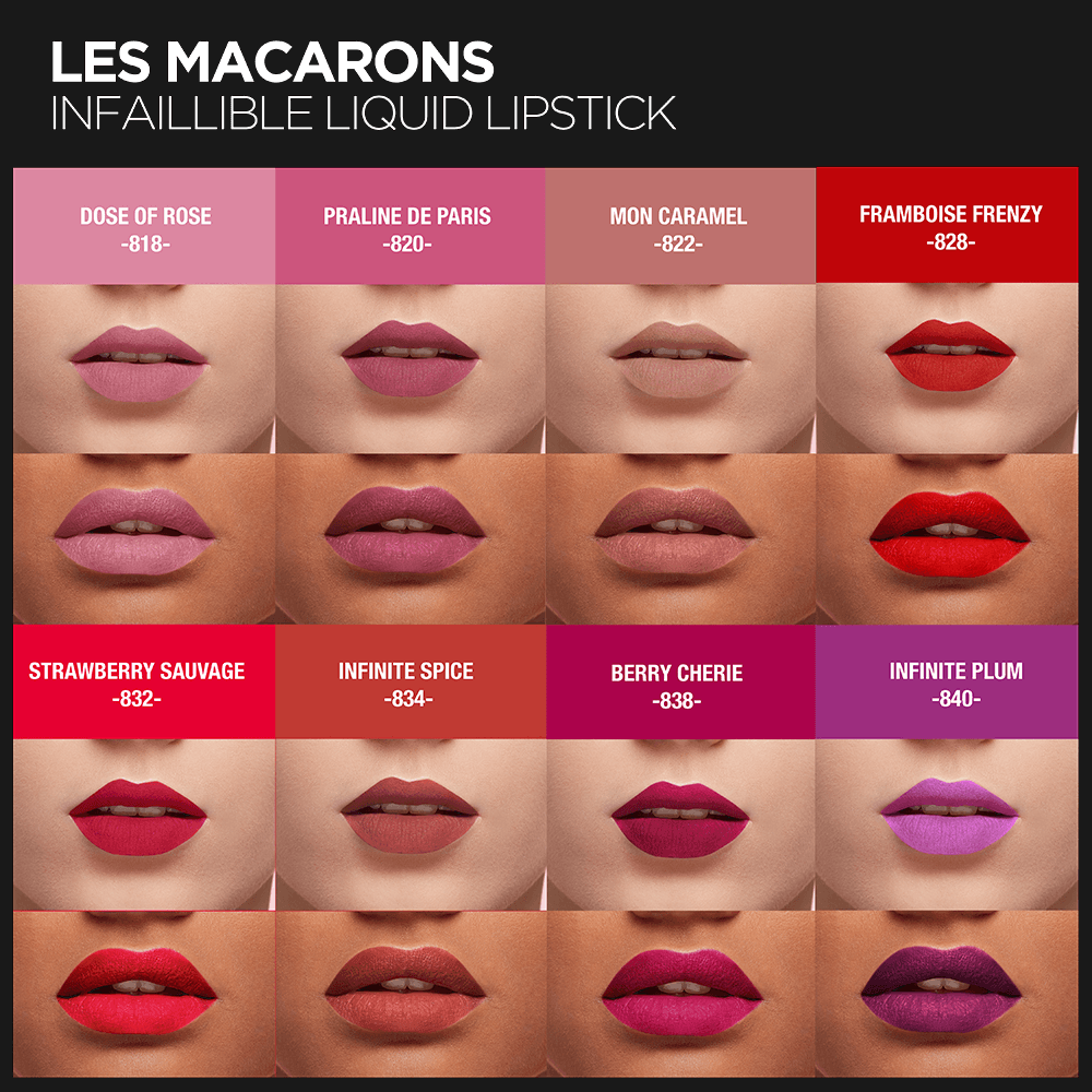 L'Oreal Paris Black Friday Les Macarons Matte Liquid Lipstick