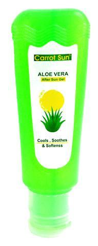 Carrot Aloe Vera After-Sun Gel: Cools, Soothes & Softens