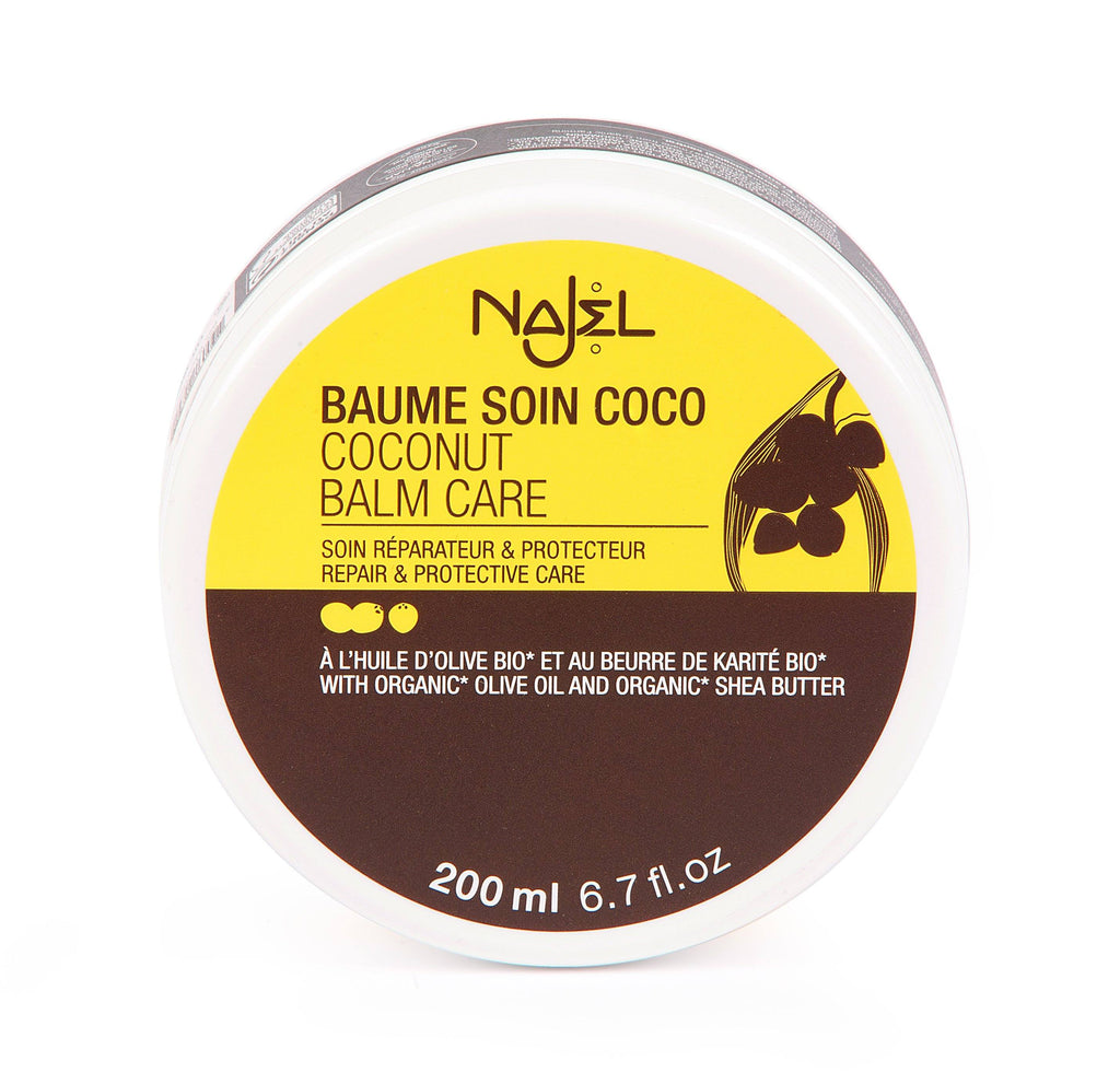 Najel Organic Coconut Balm Care Repair and Protection - Body & Hair