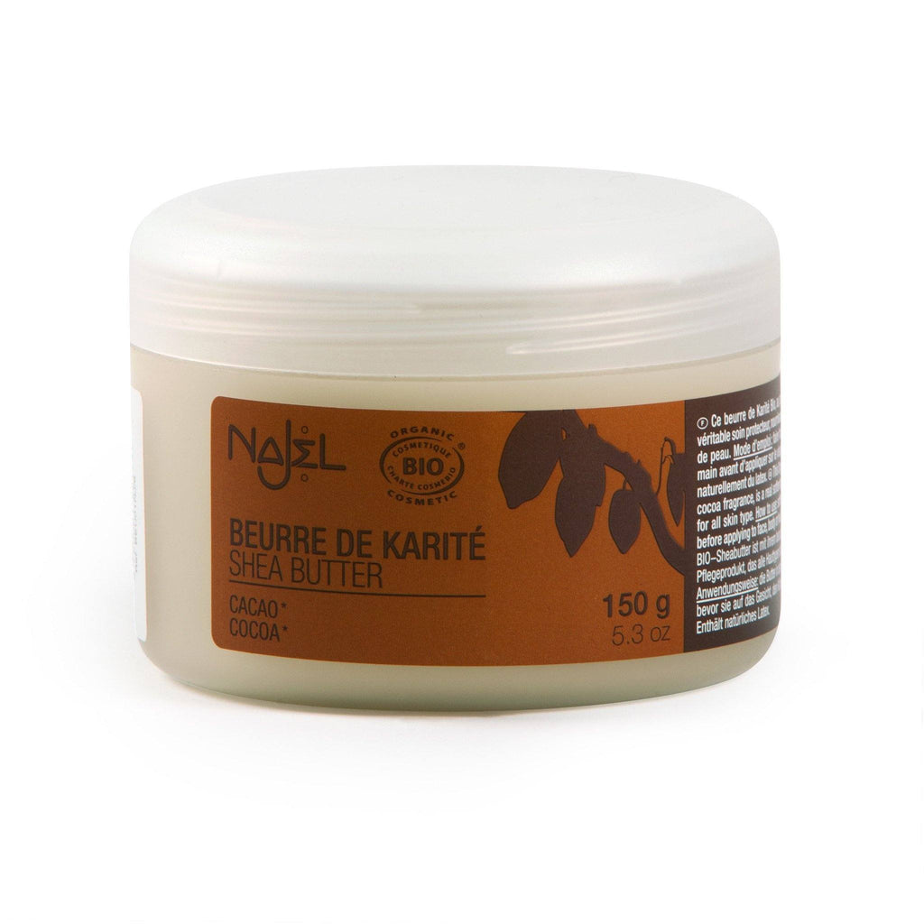 Najel Organic Shea Butter Nourishing and Protecting Care - Cocoa