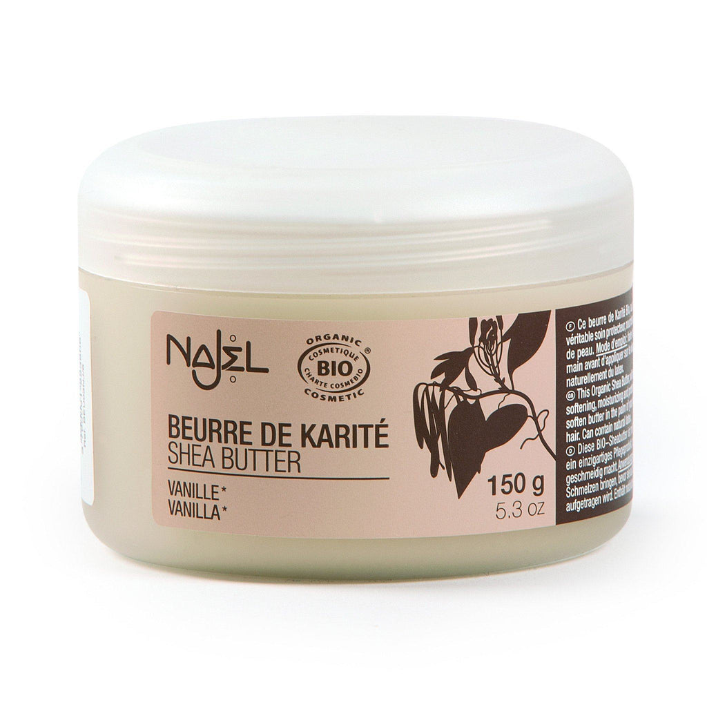 Najel Organic Shea Butter Nourishing and Protecting Care - Vanilla