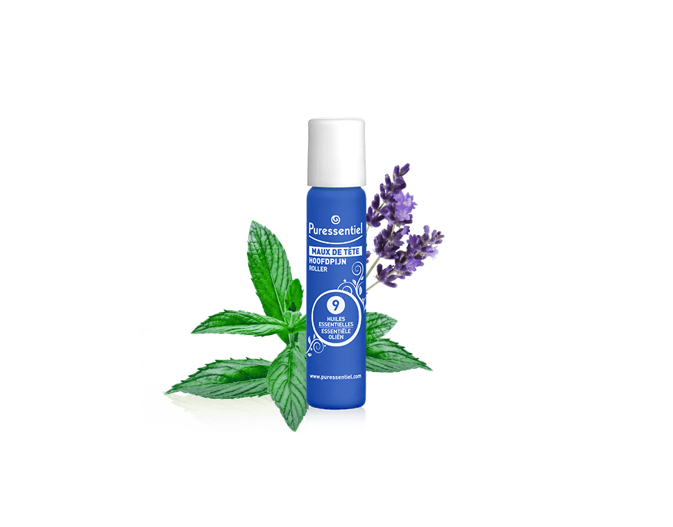 Puressentiel Headache Roll-On - 9 Essential Oils