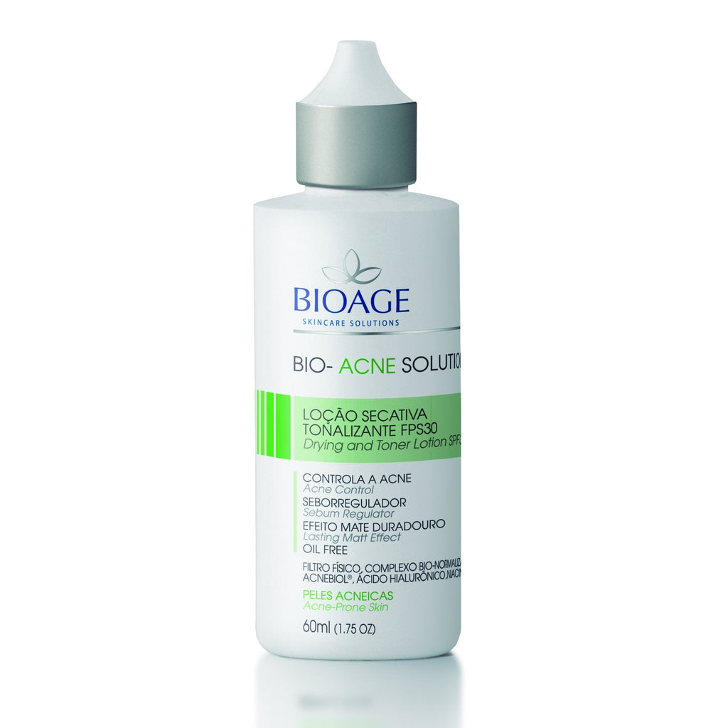 Bioage Bio-Acne Solution Drying and Toner Lotion 60ml