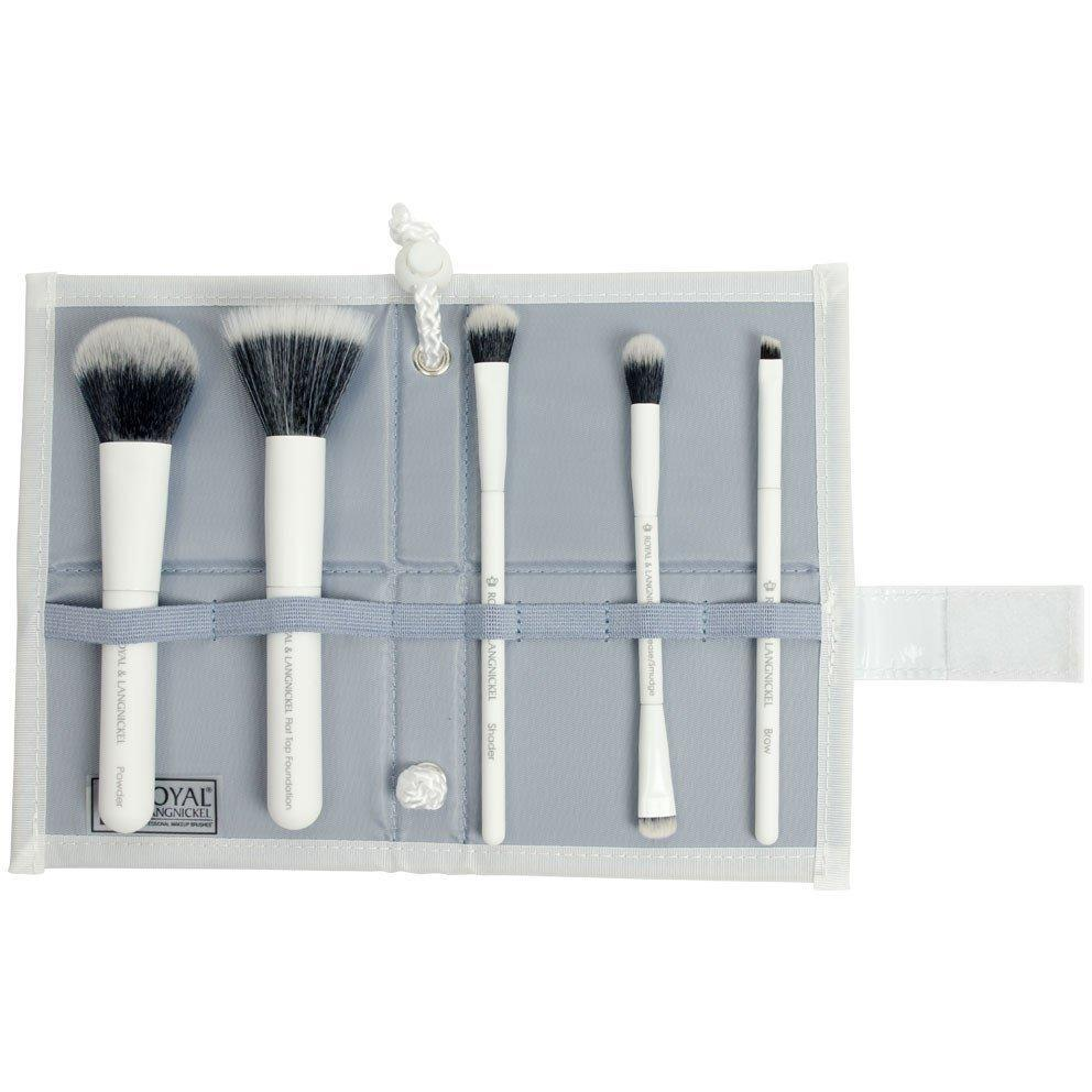 Royal & Langnickel Moda Perfect Mineral 6Pc White Brush Kit | feel22 | Lebanon