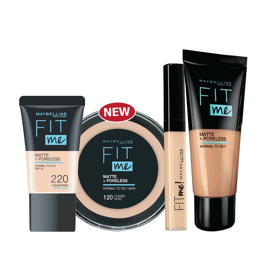Maybelline Fit Me Masterclass Bundle 15% Off!