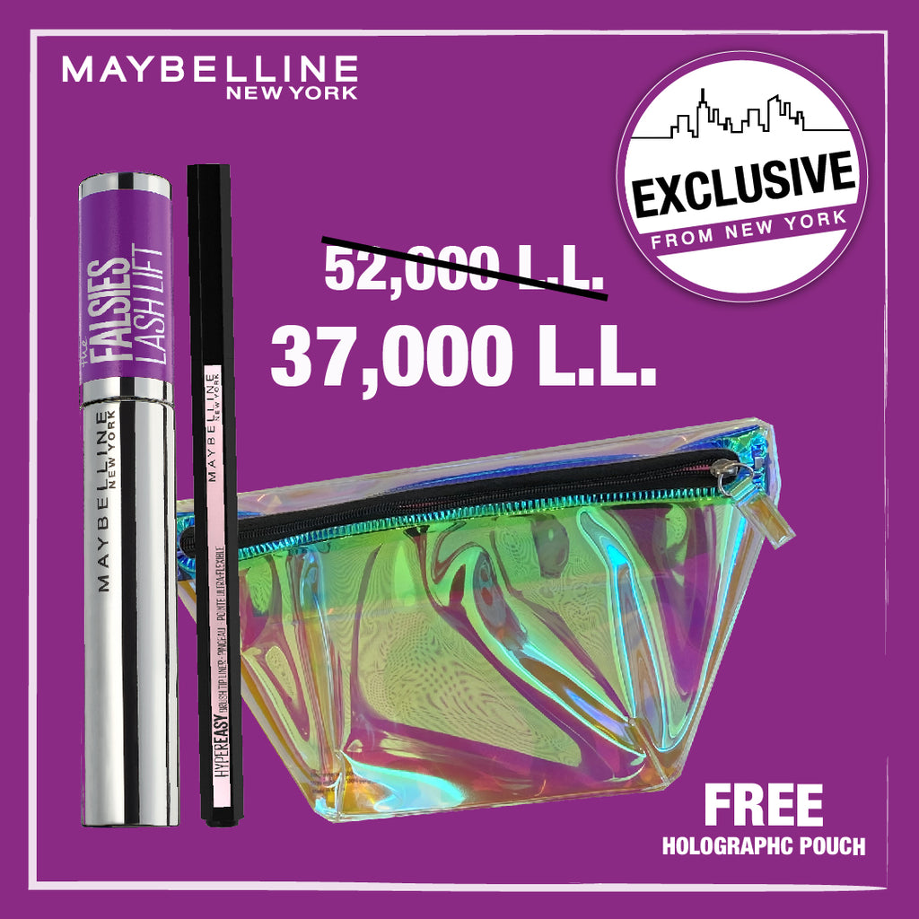 Maybelline Easy Lifted Eyes Kit + Free Belt Bag!
