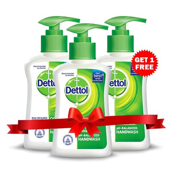 Dettol Liquid Hand Wash - Buy 2 Get 1 Free