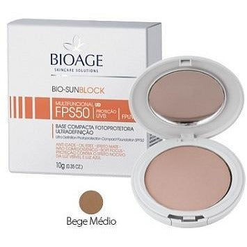 Bioage Bio-Sunblock Compact Powder SPF50