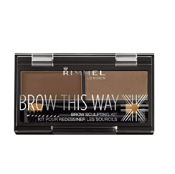 Rimmel London Brow This Way Palette Eyebrow Kit