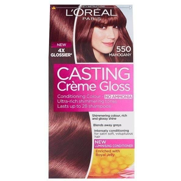 L'Oreal Paris Casting Creme Gloss - No Amonia Hair Coloration (18 Shades Available)