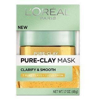 L'Oreal Paris Pure Clay Mask: Evens & Lightens - Lemon Extract