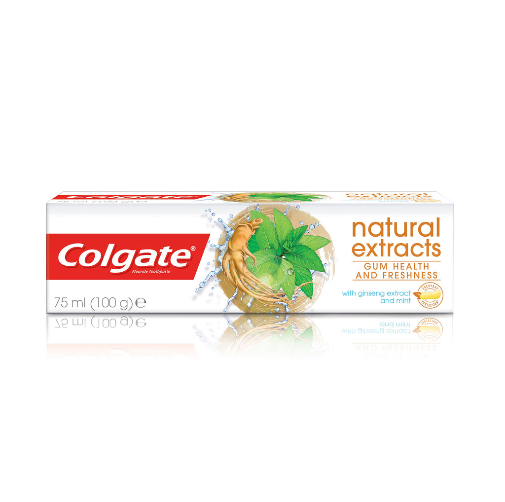 Colgate Natural Extracts Gum Health & Freshness with Ginseng Extract & Mint Toothpaste