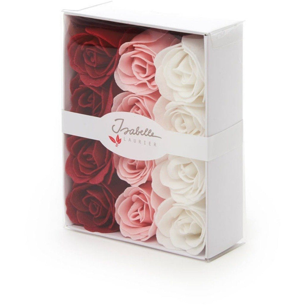 Isabelle Laurier White Box With '12 Soap Confetti Roses'