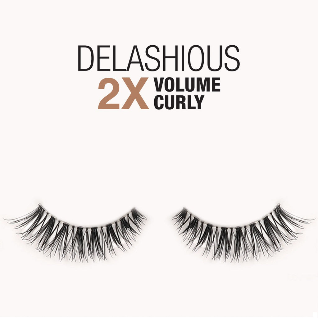 Samoa Delashious 2X Volume-Curly False Eyelashes