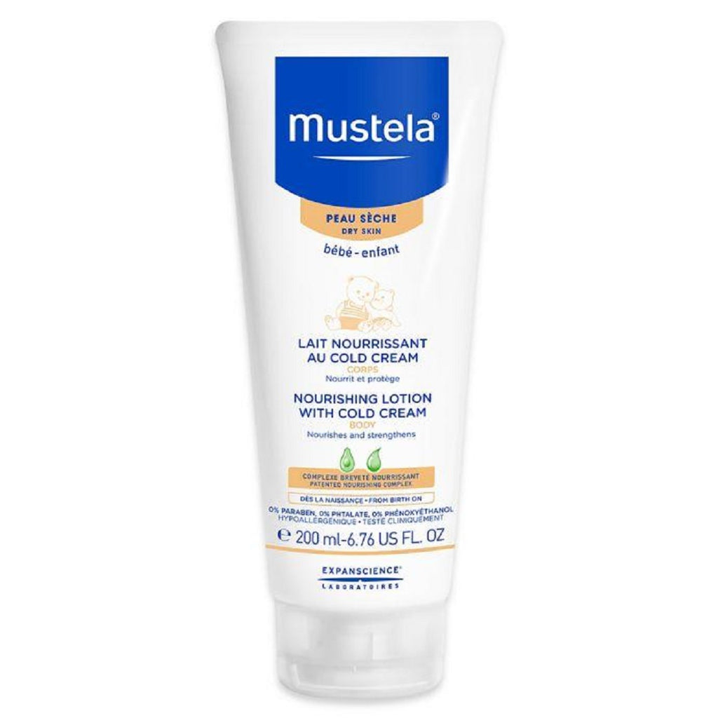 Mustela Dry Skin Nourishing Lotion with Cold Cream