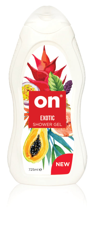 ON Shower Gel Exotic - Old Packaging