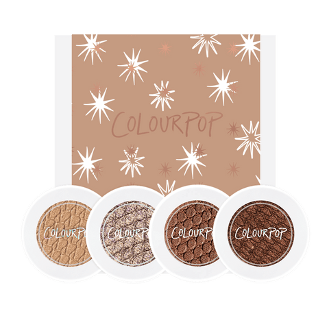 Colourpop All Nighter Foursome - Eyeshadow Bundle