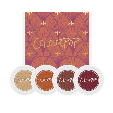 Colourpop Zingara Foursome - Eyeshadow Bundle