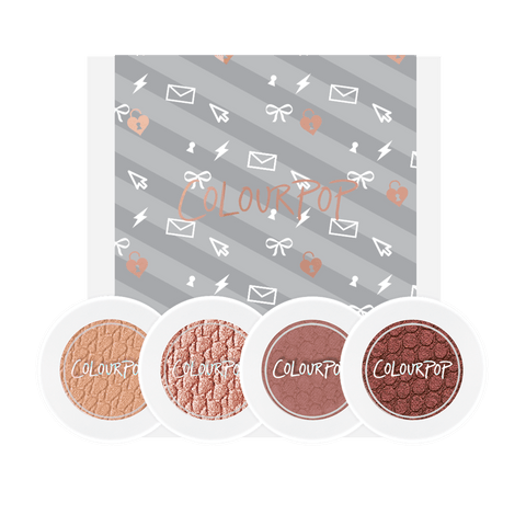 Colourpop Love Line Foursome - Eyeshadow Bundle